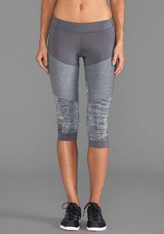 ADIDAS BY STELLA MCCARTNEY Stu 3/4 Tight Legging in Sharp Grey - adidas by Stella McCartney