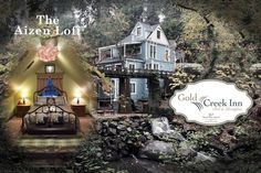 Gold Creek Inn B&B A-Zen Loft - Bed and breakfasts for Rent in Nevada City, California, United States Nevada City, Victorian Homes, Loft, Bed And Breakfast, Perfect Place, Deer, Condo, Vacation, Mansions