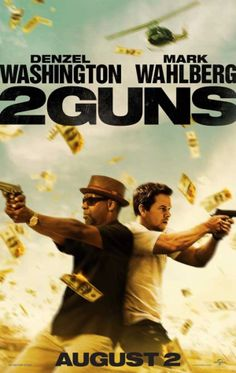 """2 Guns 11x17 Movie Poster (2013). CAST: Mark Wahlberg,Paula Patton,Denzel Washington,James Marsden,Bill Paxton,Edward James Olmos,Evie Thompson,Robert John Burke,Fred Ward,Patrick Fischler,Doris Morgado,Jesus Jr.,Bonnie Bentley,James Rawlings,Azure Parsons; DIRECTED BY: Baltasar Kormákur; Features: 11"""" x 17"""" Packaged with care - ships in sturdy reinforced packing material Made in the USA SHIPS IN 1-3 DAYS"""