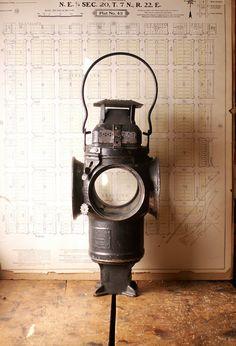 Vintage Adlake Non-Sweating Railroad Lantern on Etsy, $98.00