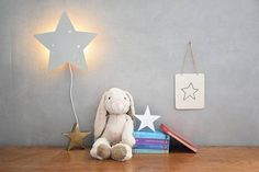 Hey, I found this really awesome Etsy listing at https://www.etsy.com/listing/548304947/night-lamp-gray-star-wall-decor-kids