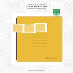 Quality DigiScrap Freebies: Template freebie from Digital Design Essentials