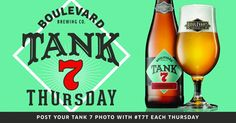 mybeerbuzz.com - Bringing Good Beers & Good People Together...: Boulevard Announces Tank 7 Thursdays