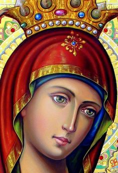 Religious Pictures, Religious Icons, Religious Art, Blessed Mother Mary, Blessed Virgin Mary, Scripture Art, Bible Art, Hail Holy Queen, Religion Catolica