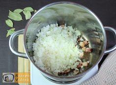 SZÉKELYKÁPOSZTA RECEPT VIDEÓVAL - székelykáposzta készítése Sauerkraut, Oatmeal, Grains, Rice, Breakfast, Recipes, Food, Goulash Recipes, Goulash Soup