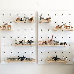 Ways to Display Schleich Animals