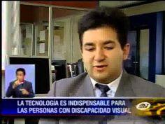 Personas con discapacidad visual tiene poco acceso a la tecnología - YouTube