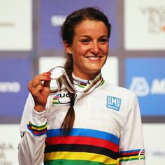 Lizzie Armitstead, the English professional world champion track and road racing cyclist, who shot to fame in 2012 when she won Great Britain's first medal at Lizzie Armitstead, British Sports, Team Gb, Sporty Girls, Tears Of Joy, Road Cycling, World Championship, Our Girl, Ladies Day