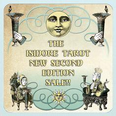 The Isidore Tarot Second Edition Sale Sun Sign, Tarot Decks, Victorian, Movie Posters, Art, Film Poster, Popcorn Posters, Kunst, Billboard