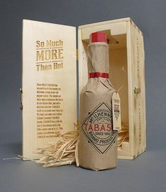 Tabasco – Limited Edition Packaging Design by Cody Petts