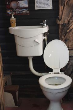 Water saving Eco Toilet at Wildspirit Backpacker's Lodge, South Africa