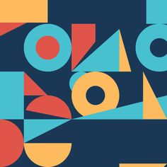 motion graphics - looping gifs - 9 Squares - Skip Dolphin Hursh