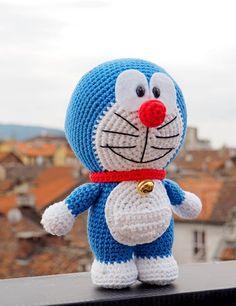 Amigurumi Doraemon by Amigurumi Torino