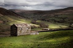 Fine art photographic print of 'Thwaite Barns' by Paul Grogan Photography, Yorkshire Dales, North Yorkshire, Urban Sketching, Old Barns, Horse Pictures, Landscape Photographers, Horses, Fine Art, World