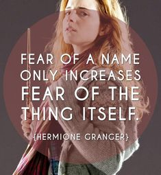 "This year, as a way to combine my love for fictional characters and personal empowerment, I will be posting inspirational character memes for every day of 2015(I know I been slippin')! January 10th belongs to Hermione Granger of J.K. Rowling's ""Harry Potter"" book series...Question everything. Don't be fooled by reputation. Rather, be fulfilled by results. Let go of fear of the unknown, and respect your ability to face it. Now, go forth to victory..."