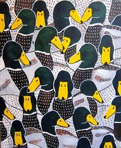Acrylic Painting by Johanna Burai Art And Illustration, Pattern Illustration, Surface Pattern Design, Pattern Art, Textile Patterns, Print Patterns, Textiles, Motifs Animal, Art Graphique