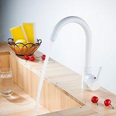 3-Loch-Armatur Einhand Ein Loch with Nickel poliert Armatur für die Küche