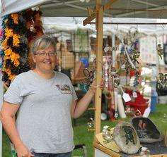This Anthony Cornett's photo of a vendor at Centralia's Anchor Fest 2014.