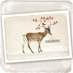 Although this is a card, I would frame it for use during the holidays... I love this artist!