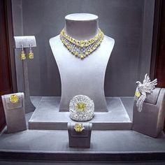 GRAFF High Jewelry window display