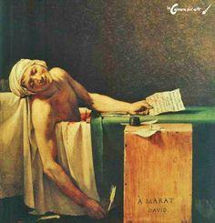 La muerte de Marat | La cámara del arte