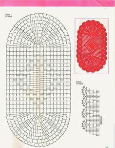 Bath Crochet Patterns Part 8 - Beautiful Crochet Patterns and Knitting Patterns Filet Crochet, Crochet Doily Rug, Crochet Carpet, Crochet Rug Patterns, Crochet Motifs, Crochet Tablecloth, Doily Patterns, Crochet Squares, Crochet Home