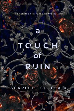 A Touch of Ruin by Scarlett St. Clair blitz with giveaway Fantasy Books To Read, Fantasy Book Covers, Book Cover Art, Book Cover Design, Ya Books, I Love Books, Book Club Books, Good Books, Beautiful Book Covers