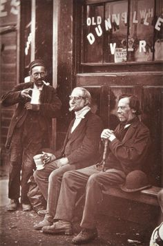 Rare glimpse of Victorian London's working class captured by street photographer