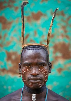 Bana tribe whipper, Omo Key Afer, Ethiopia. Picture by Eric Lafforgue