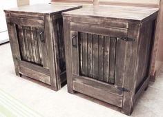 Kentwood Nightstands | Do It Yourself Home Projects from Ana White