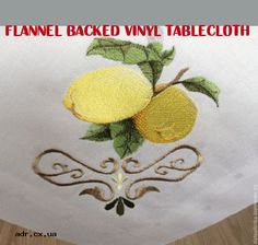 flannel backed vinyl tablecloth