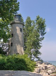 Lighthouse Point Pelee Island, by Library Playground Canada, Torre Cn, Ottawa, Ontario, Quebec, Lighthouse Lighting, Beacon Of Light, Second Empire, Light Of The World