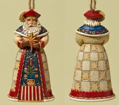 Polish Santa Ornament