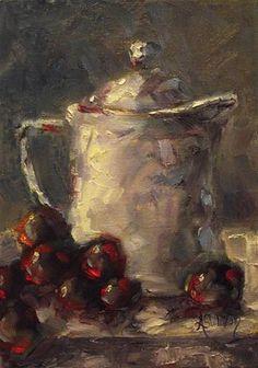 """The Pot by Angela Sullivan"" - Original Fine Art for Sale - © by Angela Sullivan"