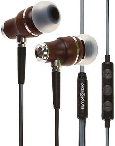 Symphonized NRG Earbuds support Premium Wood In-ear Noise-isolating  Headphones 983f849ee76a1