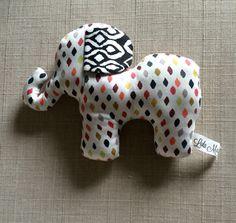 Organic stuffed elephant | organic baby | stuffed animal | nursery | baby shower gift | handmade | sustainable https://www.etsy.com/listing/247823088/organic-cotton-off-white-speckle-print