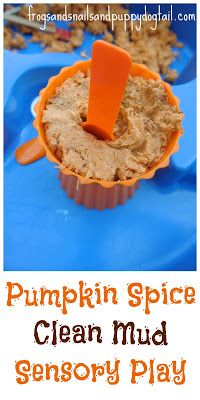 Fall Scented Ice Cream Dough- Sensory Play