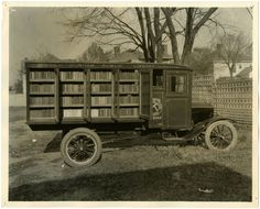 Digital Public Library of America: We are celebrating National Bookmobile Day,part...