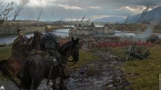 ArtStation - GoT 6 - Riverrun siege, karakter design studio