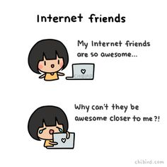12 Best Internet Friends are the Best Friends♡ images | Internet