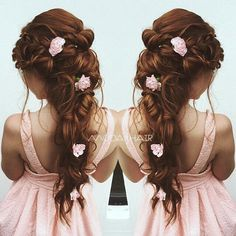 #beautiful #bridal #hair