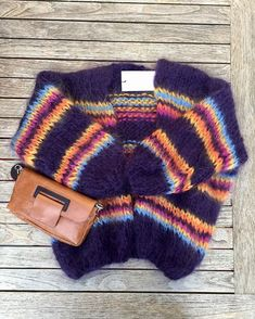 Baby mohair knits … a desire to curl up in these wonders of a … – Håndarb… - Pullover Knitting Patterns Free, Baby Knitting, Knitting Sweaters, Winter Sweaters, Sweaters For Women, Chunky Knitwear, Mohair Sweater, Knit Jacket, Crochet Cardigan