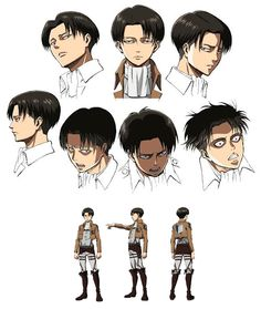 Attack on Titan, Levi Rivaille - I might just make him his own board on here xD