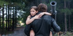 Terminator Genisys- Pops saving Sarah when she was 9.