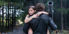 Terminator Genisys- Pops saving Sarah when she was 9.