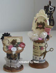 Riet's Blog: Vintage klosjes