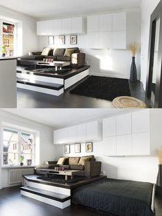 30 einrichtungsideen für schlafzimmer  den kleinen raum optimal nutzen