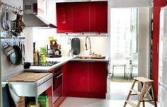 décoration-cuisine-rouge