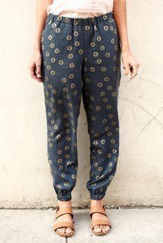 Luna Pants Sewing Pattern PDF More