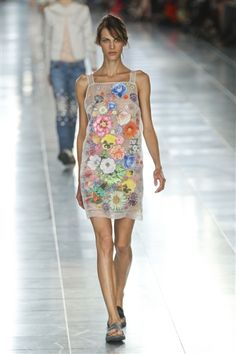 Christopher Kane Spring 2012. I hate the shape, but love everything else.